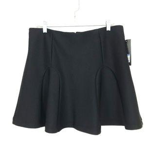 NEW Mossimo fit & flare godet skirt mini scuba